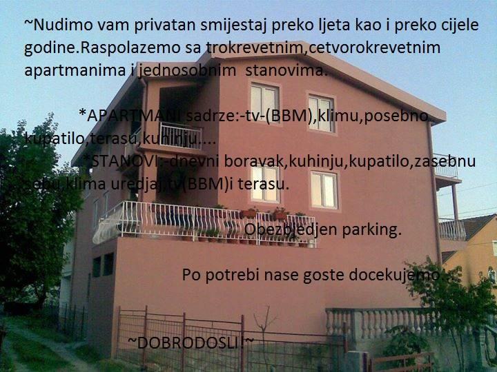 Apartmani Maki Sutomore