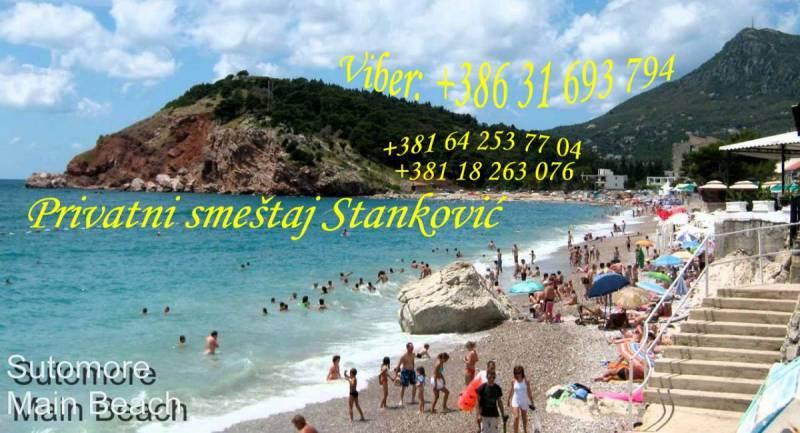 Smeštaj Stanković - Sutomore