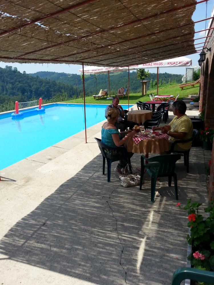 Vila Milica selo Trudelj