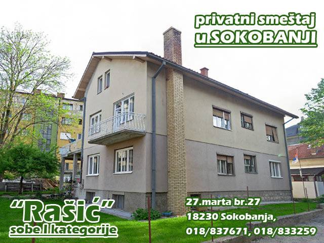 Sobe i apartmani porodice Rašić