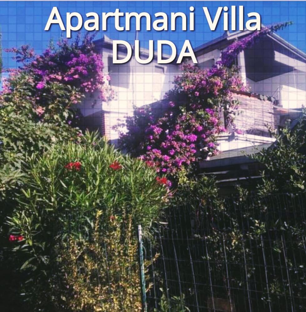 Villa DUDA, Apartmani